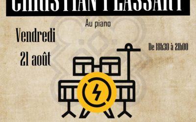 Restaurant à Lannion – Concert avec Christian Plassart – 21 août