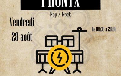 Restaurant à Lannion – Concert avec Phonyx – 28 août