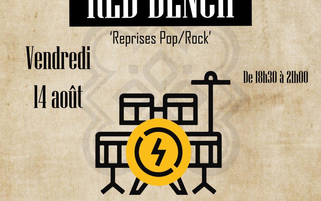 Restaurant-Lannion-Affiche-Concert-Red-Bench