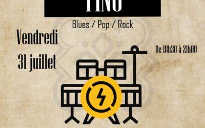 Restaurant à Lannion – Concert avec Tino au Breizh Shelter