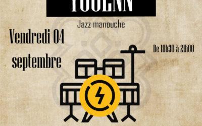 Restaurant à Lannion – Concert avec Youenn – 4 septembre
